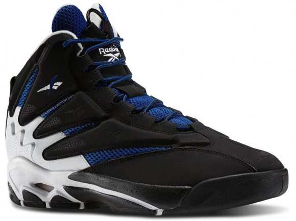 5e31fbe47432 Reebok Blast OG - Black Blue-White - WearTesters