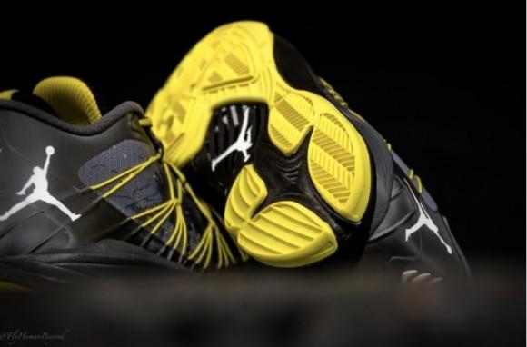 Jordan CP3.VII AE Dark Grey Vibrant Yellow - WearTesters 101145252c7a