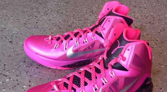Nike Hyperdunk 2014  Think Pink  Kay Yow  - WearTesters c33a20f6a3
