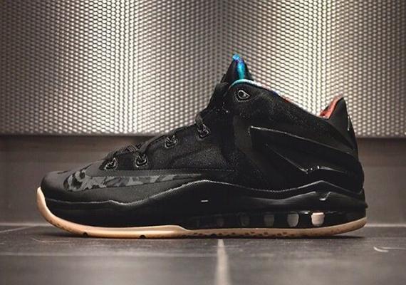 8938f9b9dd1 Nike LeBron 11 Low Black Gum - Release Info - WearTesters