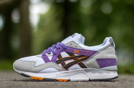 pretty nice bbdd1 6cdd8 Asics Gel-Lyte V – Grey Purple