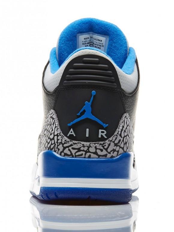 d30e42425af534 Air Jordan 3 Retro  Sport Blue  - Release Reminder - WearTesters