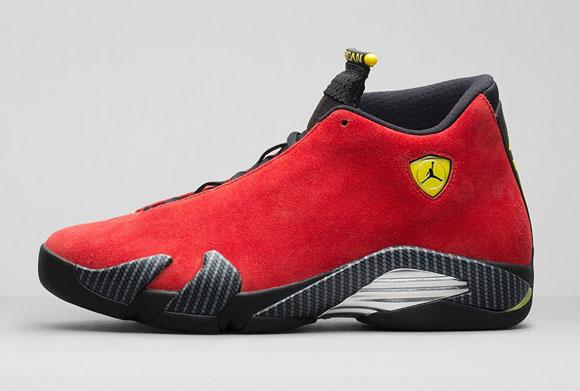 c725ceaef3ab Air Jordan 14 Retro  Ferrari  - Official Look + Release Info ...
