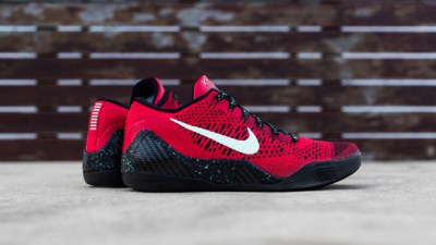 new arrivals 61ae5 6f24b Nike Kobe 9 Elite Low University Red  Black – Up Close   Personal
