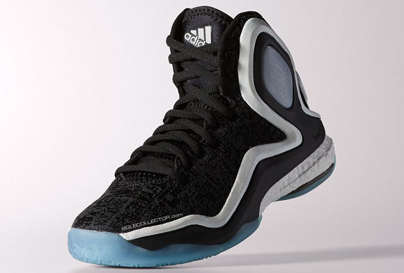 sale retailer d6800 62159 adidas D Rose 5.0 Black White - Detailed Look 2