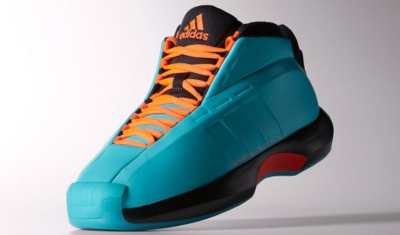 5392080e51d adidas Crazy 1 Teal  Orange - First Look - WearTesters