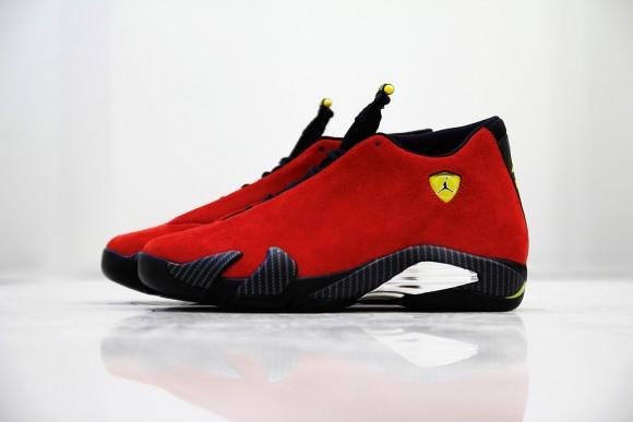 6fc767708711ae Air Jordan 14  Ferrari  - U.S. Release Date
