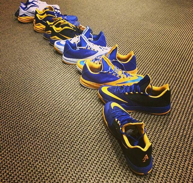 9ee762454d584 Nike Zoom Run The One and Hyperdunk 2014 Low -  Andre Iguodala  PEs ...