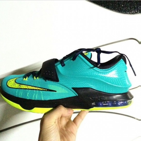 hot sale online a296e f96c3 Nike KD 7  Lightning  - First ...