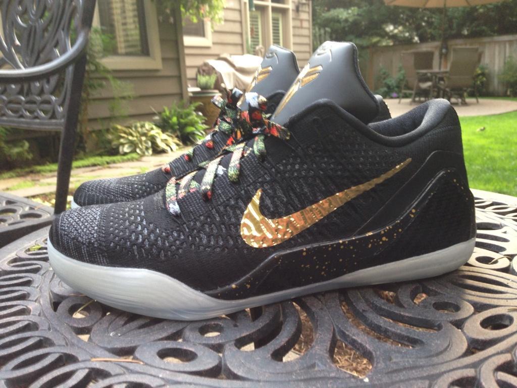 Nike Kobe 9 Elite Low  Watch The Throne  iD Custom - WearTesters 2f292db4ad