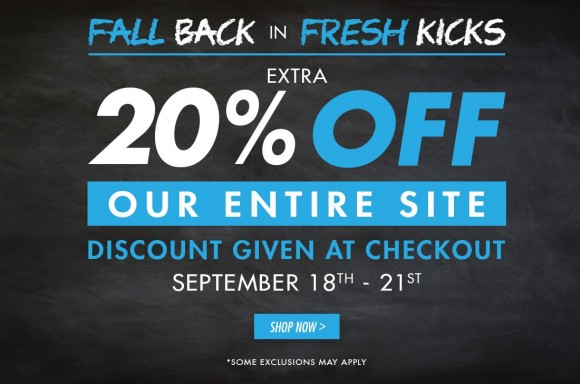 b2f2cae48 Performance Deals: 20% Off Everything at Kicks USA - WearTesters