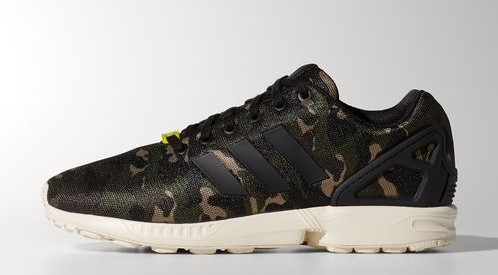 huge selection of dd2a3 29c2e adidas ZX Flux  Camo  - Available Now - WearTesters