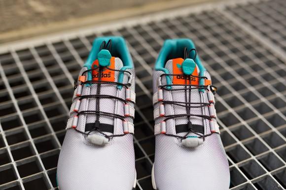 53aa605b73bdd adidas ZX Flux Winter Grey  Turquoise - WearTesters
