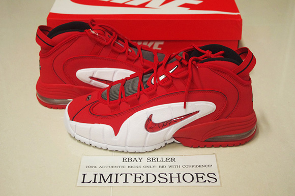 sneakers for cheap 45eb8 52f6e Nike Air Max Penny 1 Retro  University Red  - Available ...