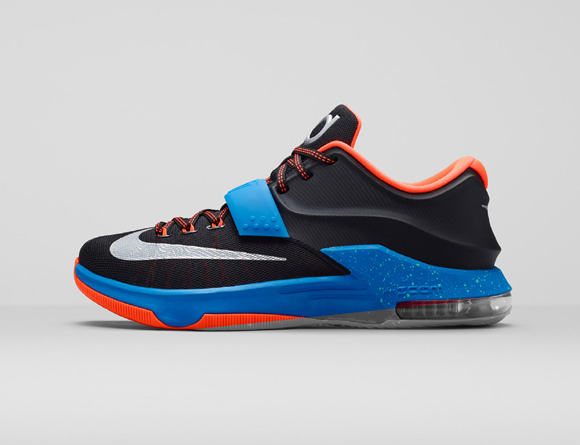 buy popular 2c297 07c9d Nike KD 7  On the Road  - Official Look + Release ...