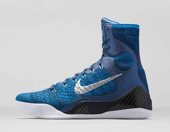 low priced 02cea bb159 Nike Kobe 9 Elite  Brave Blue  - Official Look + Release ...