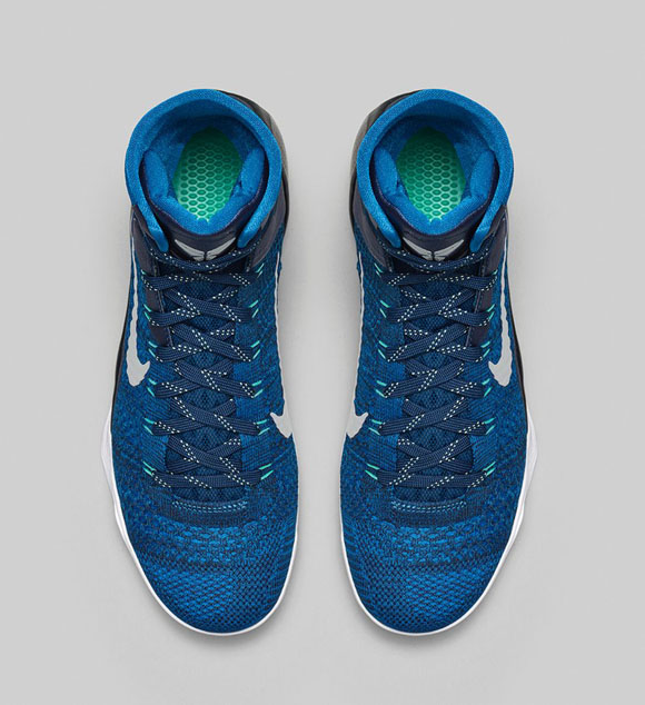 new arrival 4e7a0 22392 ... Nike Kobe 9 Elite  Brave Blue  - Official Look + Release ...