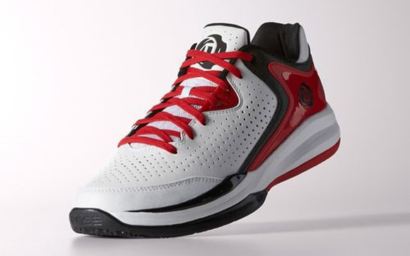 ab7888add55ee1 adidas D Rose Englewood 3 White  Black - Light Scarlet - WearTesters