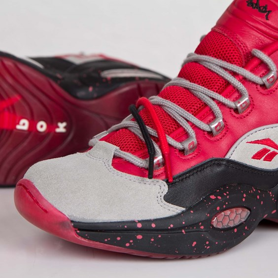stash x reebok question mid red available now