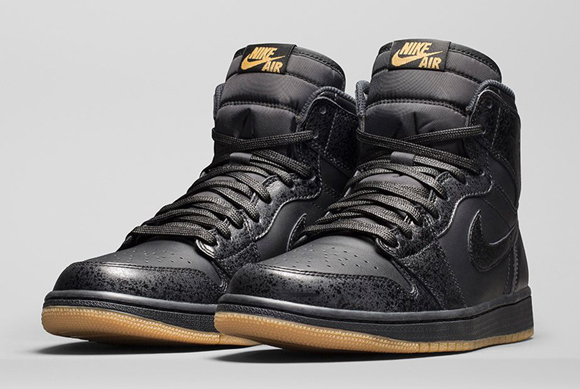 00eb886534519 Air Jordan 1 Retro High OG Black  Gum - Official Look + Release Info ...