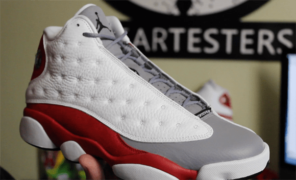 715ea83d5e2a Air Jordan 13 Retro  Grey Toe  - Detailed Look   Review - WearTesters