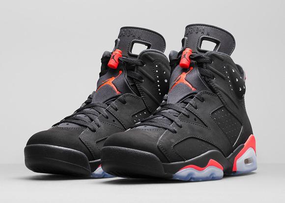 c954ea334a846f Air Jordan 6 Retro Black  Infrared23 - Official Look + Release Info ...