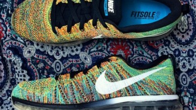 hot sale online 2d5e3 3ac8f Nike Flyknit Air Max  Multicolor
