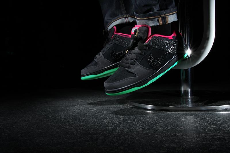 new concept f61e5 4daca Premier x Nike SB Dunk Low  Northern Lights 3 ...