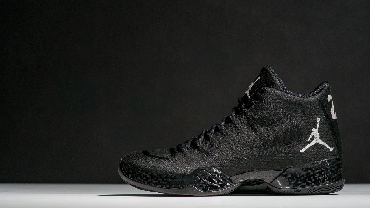 185b870b9e95 Air Jordan XX9 Black  Black- White - WearTesters