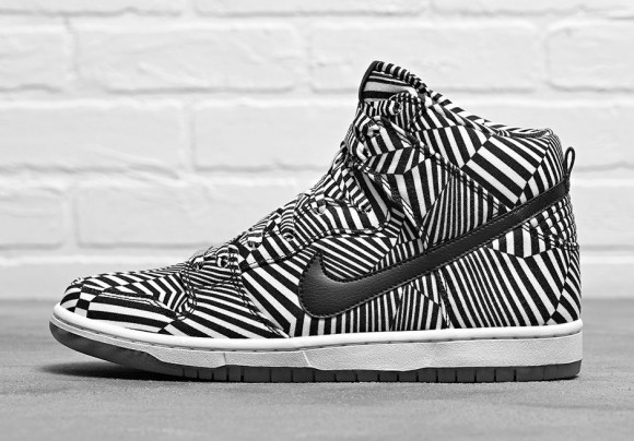 brand new 9182f 27ec1 Nike Dunk High Premium SB 'Dazzle' - Official Look - WearTesters