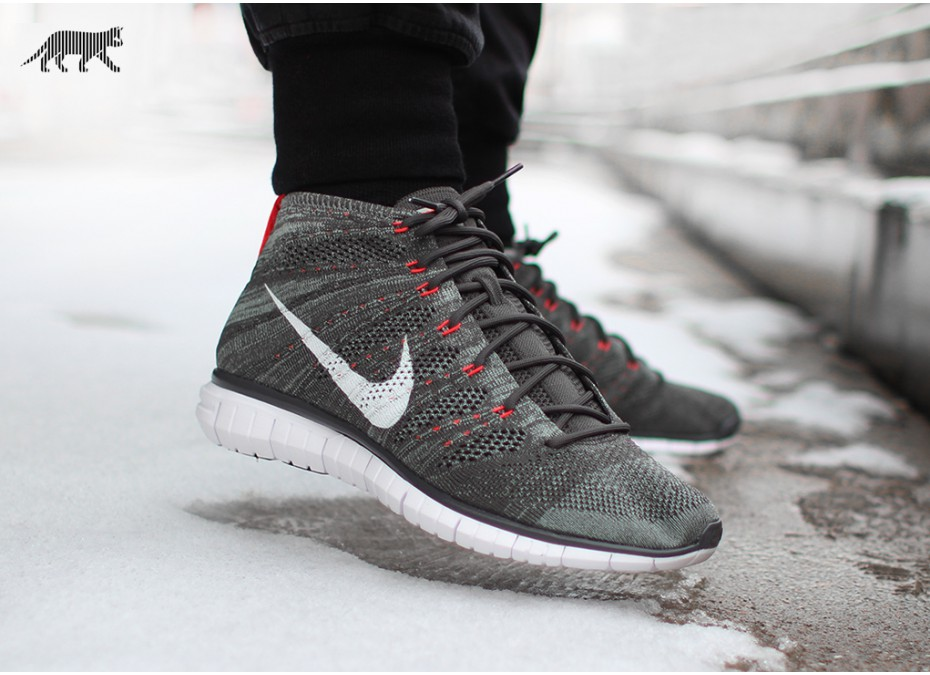 09df4e94f2 ... Nike Free Flyknit Chukka Midnight Fog Mica Green Bright Cream - First  Look 5