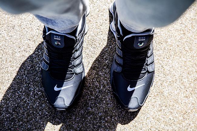 super popular 07961 8c7dd ... Foot Locker AU. Nike Shox NZ  Reflective Silver -3