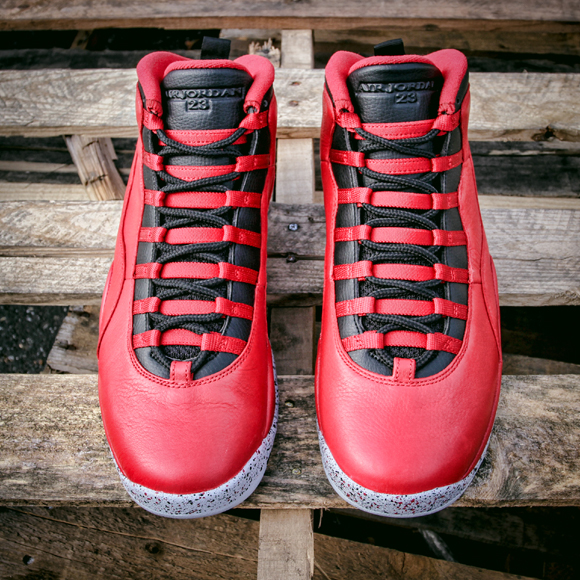 e35bd83161585d Air Jordan 10 Retro  Bulls Over Broadway  - Detailed Images ...