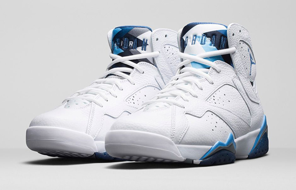 4fb333304981 Air Jordan 7 Retro  French Blue  - Official Look + Release Info ...