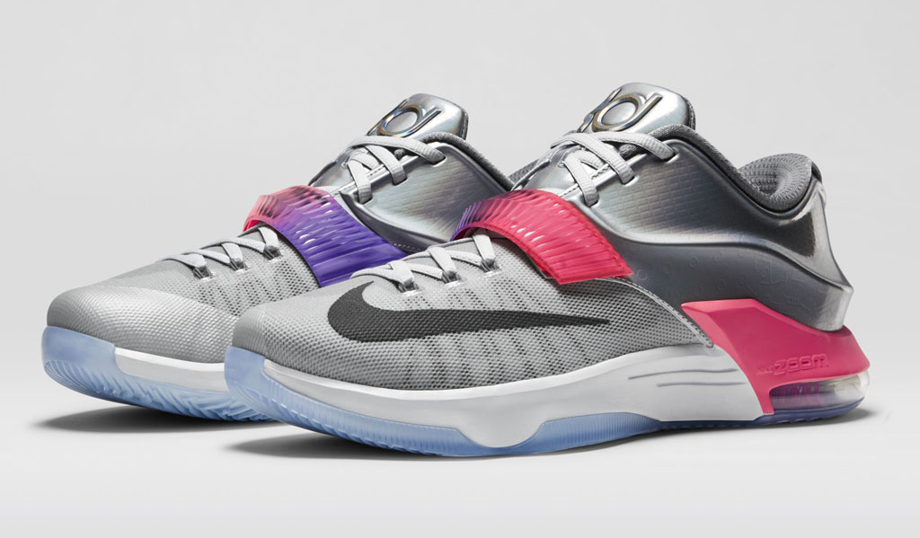reputable site 13ff7 66c36 get nike kd 7 pink gray d5e37 6f1b0