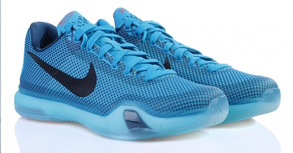 separation shoes 79d79 4e4a3 Nike Kobe X  Blue Lagoon  - Detailed ...