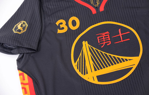 896fed974 Warriors Unveil First-Ever Chinese New Year Uniforms - WearTesters