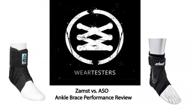 Zamst vs. ASO Ankle brace performance review.1