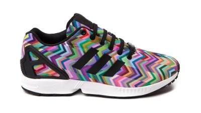 830d7dc59caa1 adidas ZX Flux  Multicolor Chevron  – Available Now