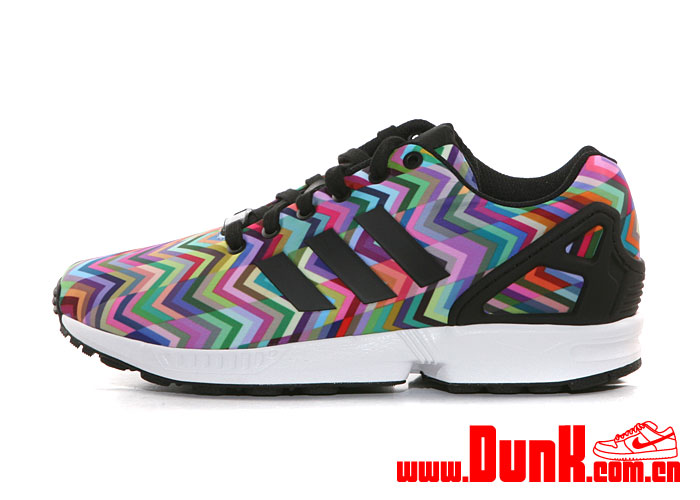 0953355300c9f adidas ZX Flux  Multicolor Chevron  - WearTesters