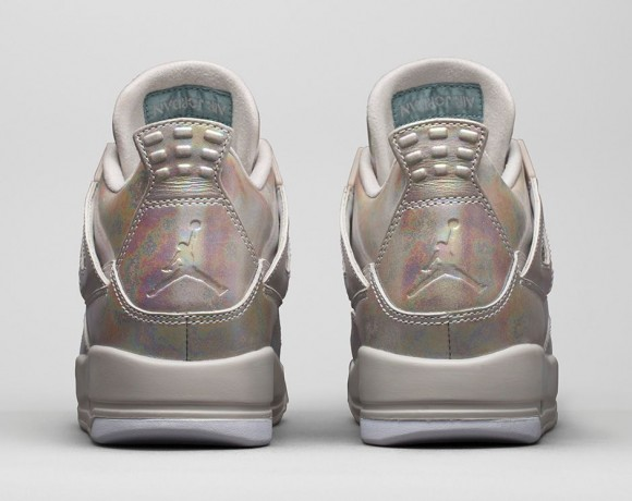 Girls Air Jordan 4 Retro 'Pearl'4