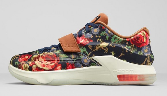 8aeeecafcf4 Nike KD 7 EXT  Floral  - Release Reminder w  Links - WearTesters