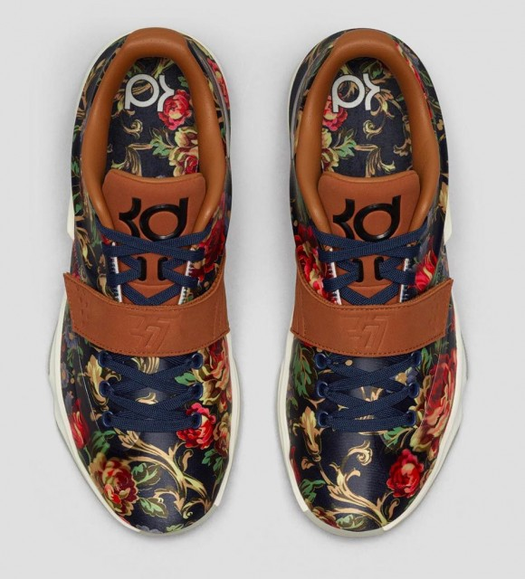 521ced0adb4c Nike KD 7 EXT  Floral  - Release Reminder w  Links - WearTesters