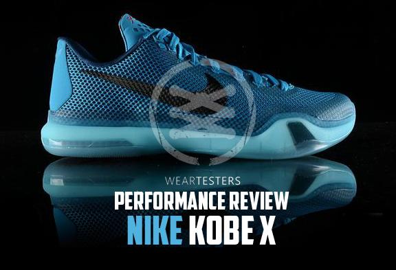 nike kobe x 10 performance review weartesters