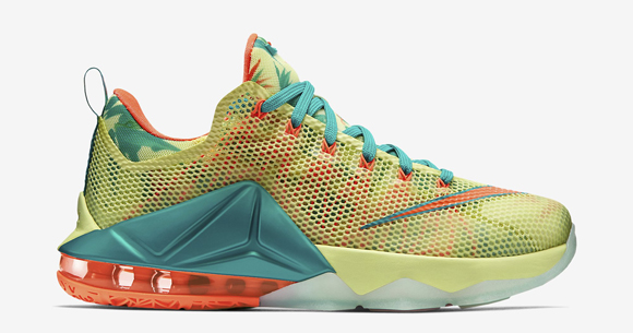info for 31d9e 203d4 Nike LeBron 12 Low  LeBronold Palmer  - Detailed Look + Release ...