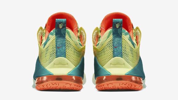 7d2b4ca8bd9 Nike LeBron 12 Low  LeBronold Palmer  - Detailed Look + Release Info ...