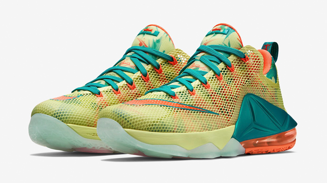 723c8c1e3ba8 Nike LeBron 12 Low  LeBronald Palmer  - Available Now - WearTesters