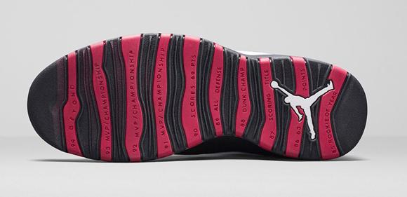 Air Jordan 10 Retro 'Double Nickle' - Official Look + Release Info 6