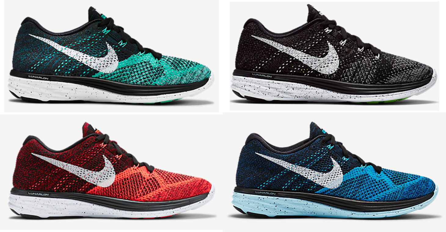 a39ec3df31ecd Nike Flyknit Lunar 3 - New Colorways Available Now - WearTesters
