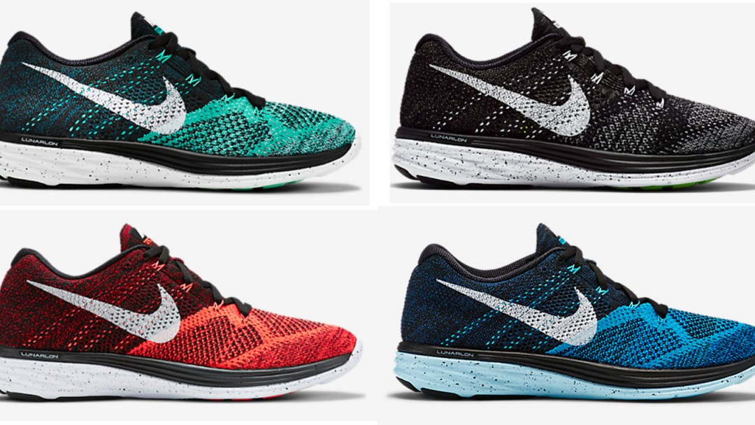 wholesale dealer 5edee ac1e3 Nike Flyknit Lunar 3 - New Colorways Available Now - WearTesters